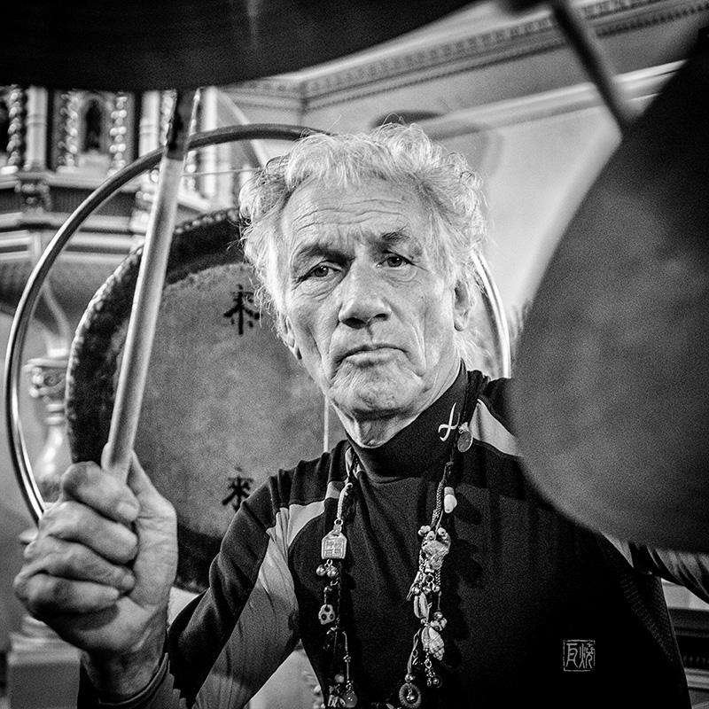 Mani Neumeier Portrait / Frank Schindelbeck Jazzfotografie