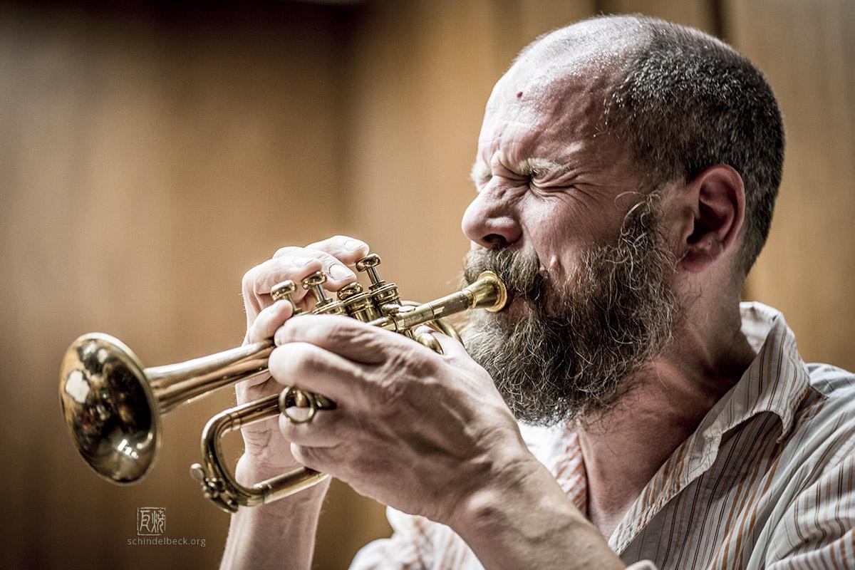 Bart Maris, Trumpet - by Frank Schindelbeck Jazz Photography