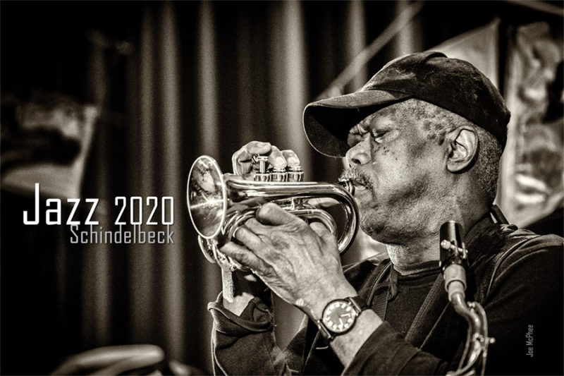 Jazzkalender 2020 - Jazzfotografie Frank Schindelbeck