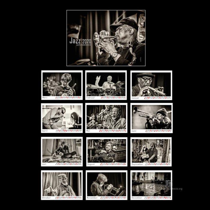 Jazzkalender 2020 Frank Schindelbeck