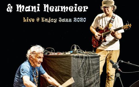 Mani Neumeier und Uchihashi Kazuhisa @ Enjoy Jazz 2020 - Photographie: Frank Schindelbeck