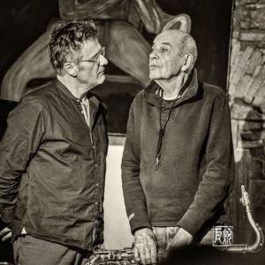 Heinz Sauer, Uwe Oberg - Photo: Schindelbeck