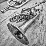 Valentin Garvie's trumpet - Sebastian Gramss - States of Play - Photo: Schindelbeck