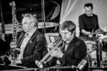 Rudi Mahall, Valentin Garvie, Etienne Nillesen - Sebastian Gramss - States of Play - Photo: Schindelbeck