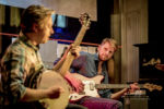 Tobias Hoffmann Trio (Frank Schönhofer, Etienne Nillesen) - Photo: Schindelbeck
